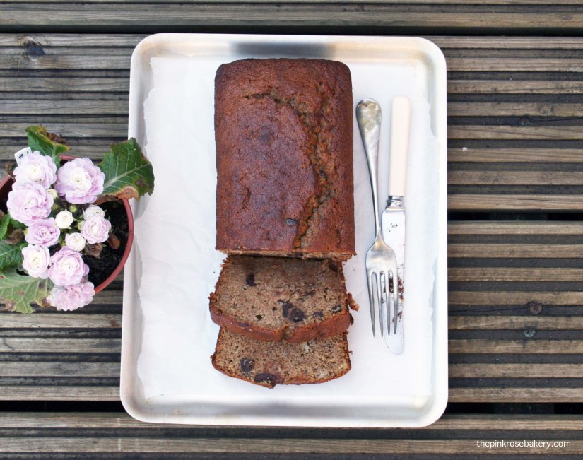 Chocolate Chip Banana Bread {gluten free, dairy free} 2 | The Pink Rose Bakery