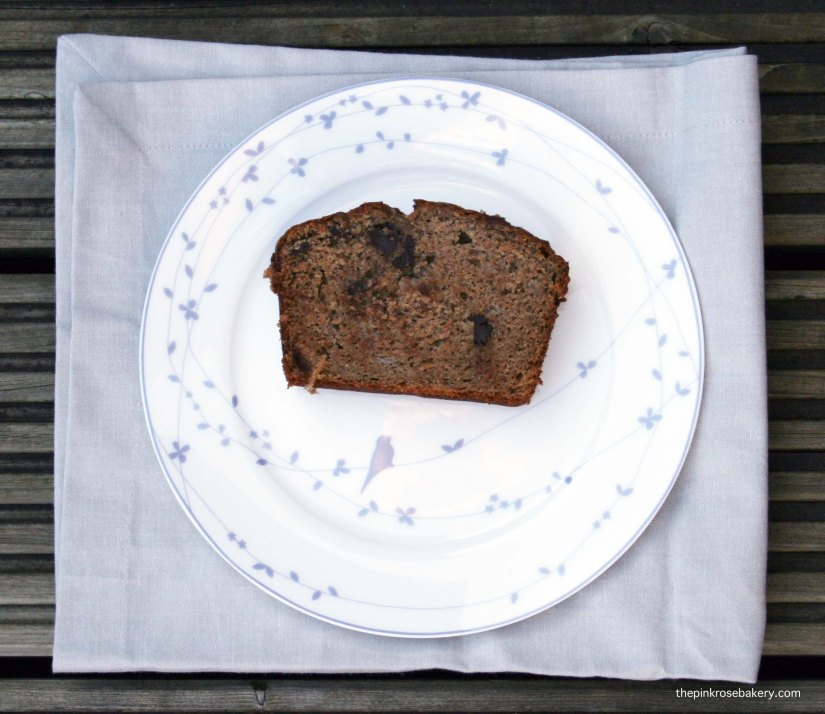 Chocolate Chip Banana Bread {gluten free, dairy free} 3 | The Pink Rose Bakery