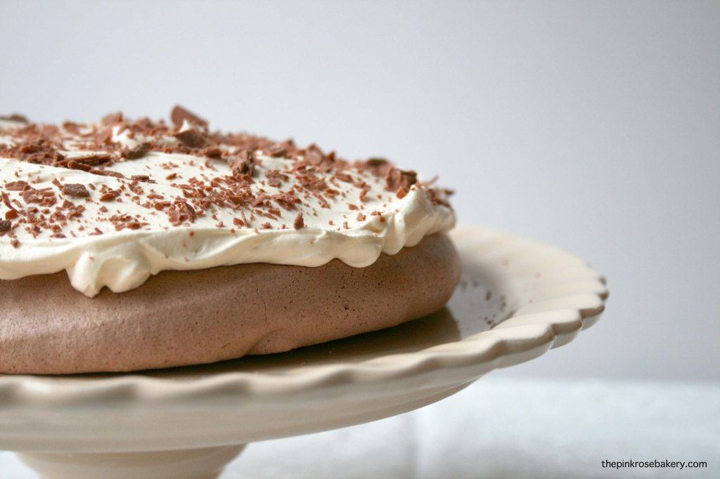 Chocolate Pavlova 1 | The Pink Rose Bakery