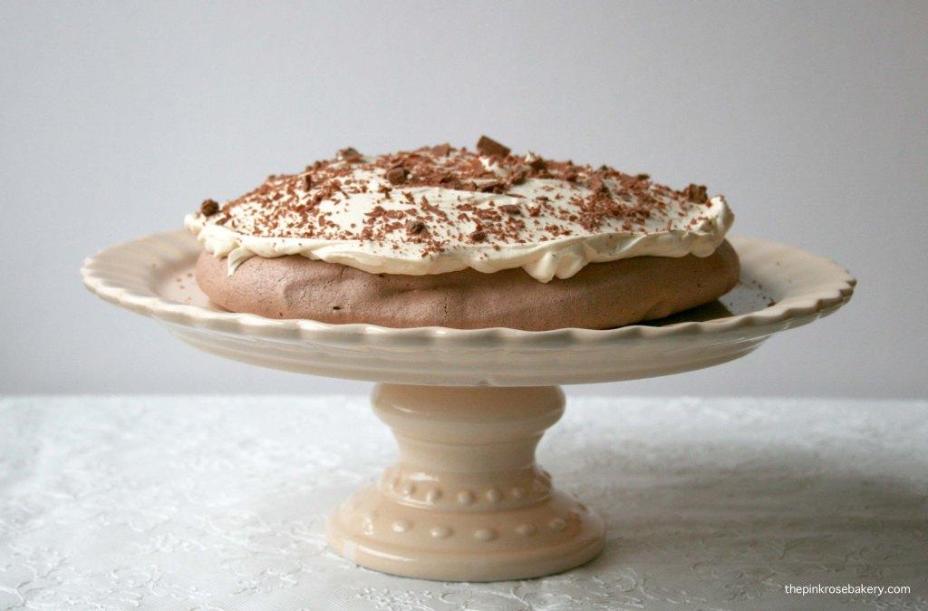 Chocolate Pavlova 3 | The Pink Rose Bakery