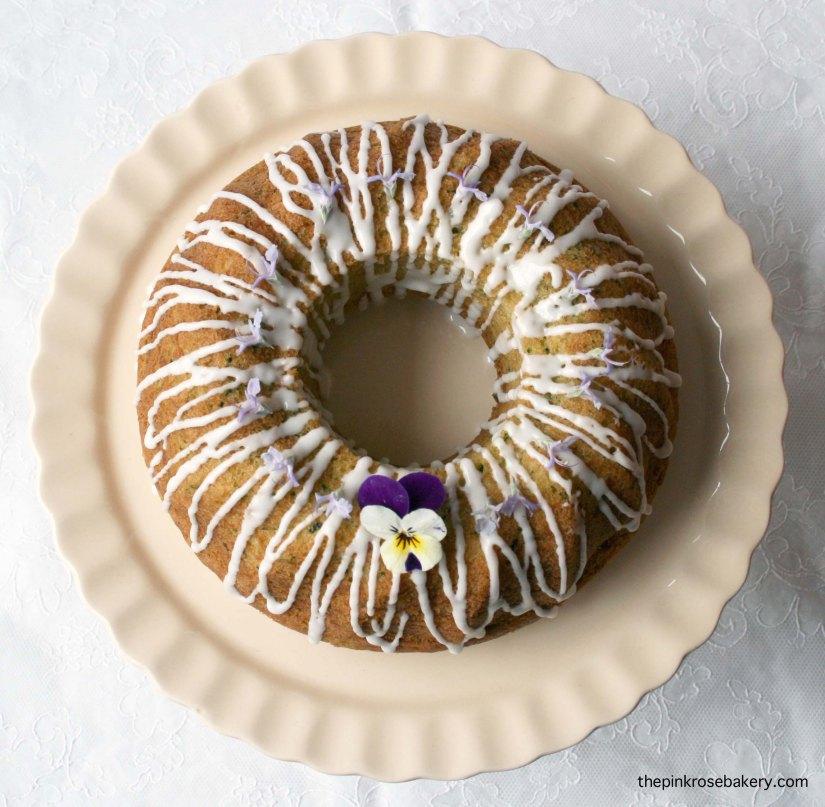 Courgette Lemon Cake Gluten Free