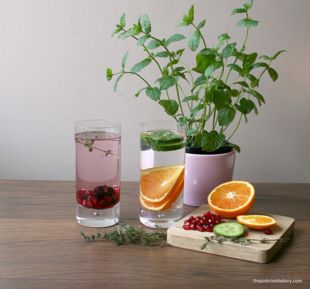 Infused Water - Part Two a | The Pink Rose Bakery