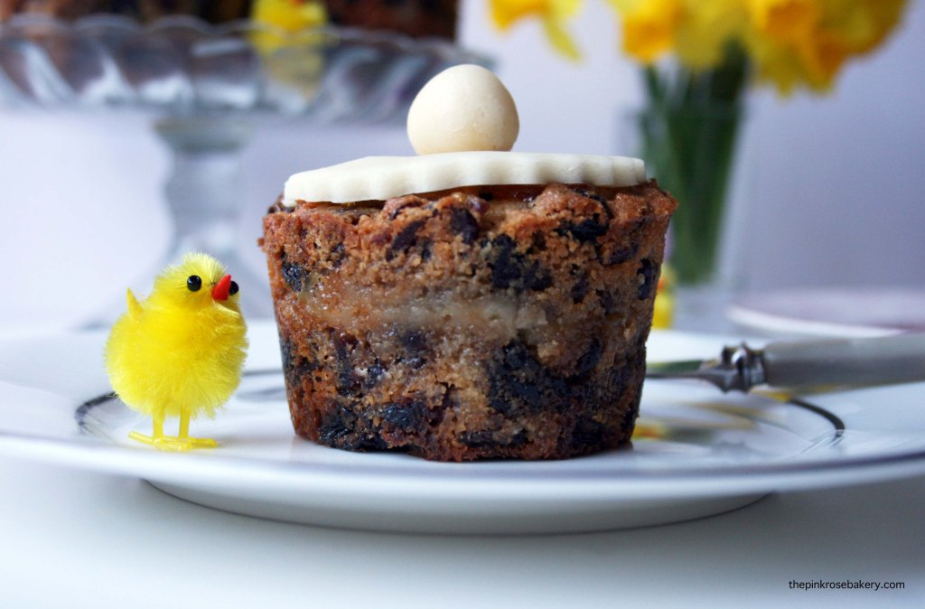 Mini Simnel Cake - gluten free and dairy free