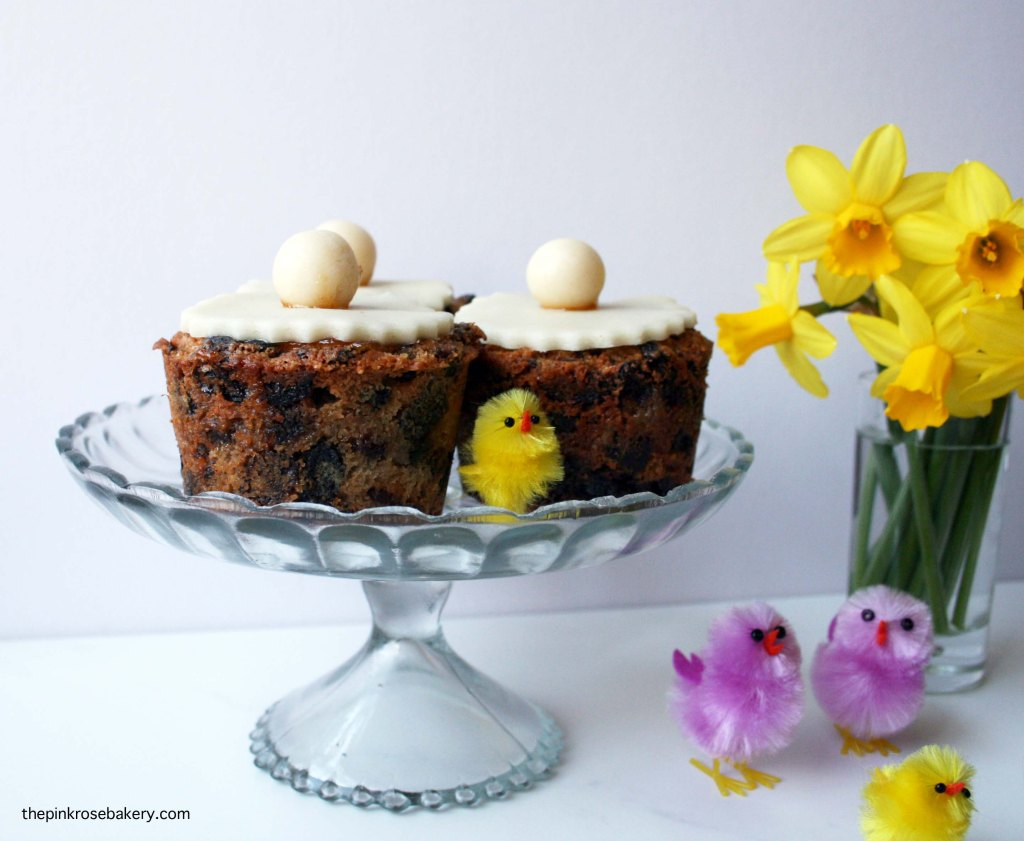 Mini Simnel Cakes, an Easter staple - gluten free and dairy free