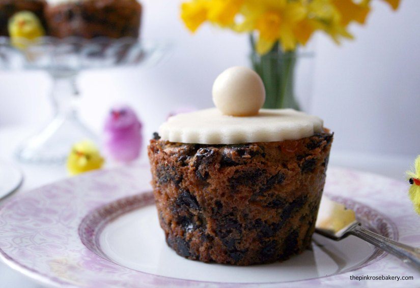 Mini Simnel Cake, an Easter staple - gluten free and dairy free