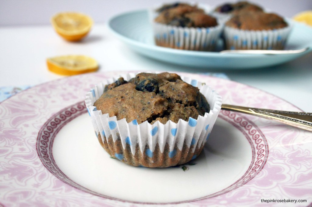 blueberry lemon muffins 4