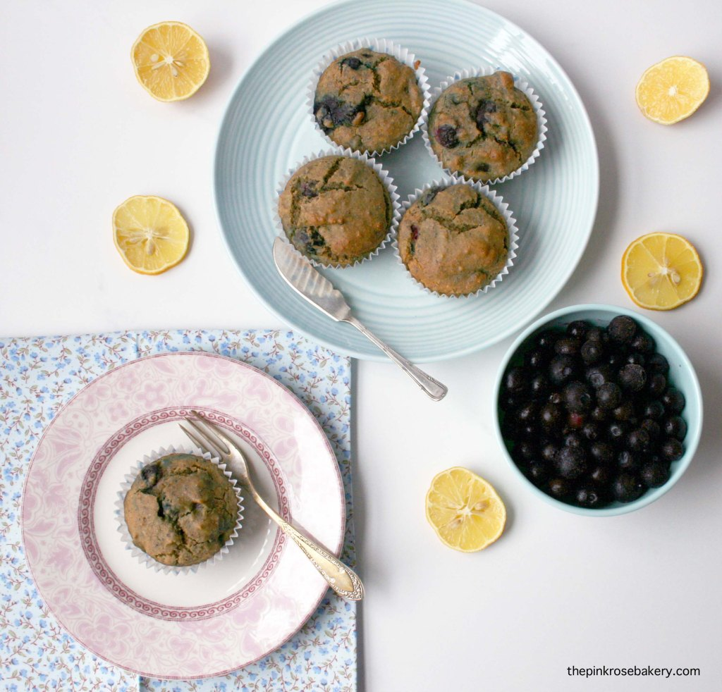 blueberry lemon muffins 5