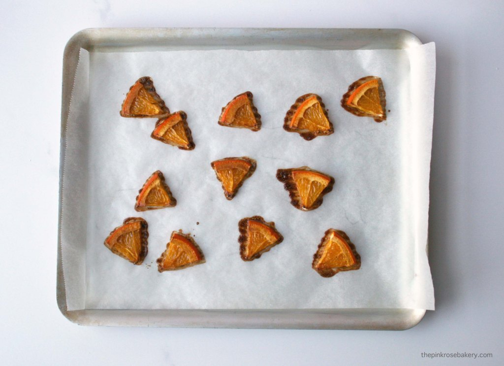 Roasted Orange Segments | The Pink Rose Bakery