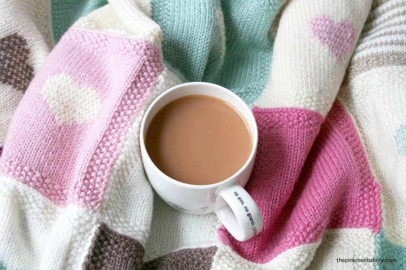 Cozy cuppa, featuring teapigs everyday brew | the pink rose bakery