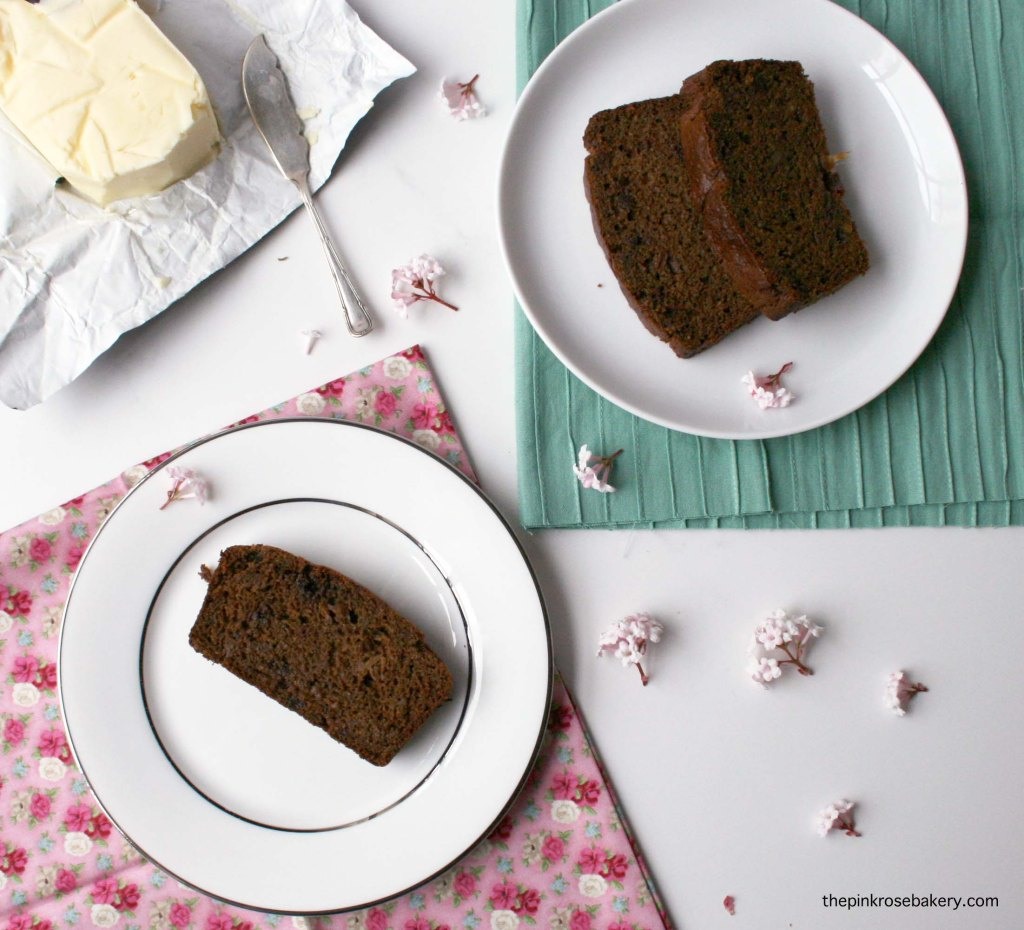 Gingerbread - gluten free and dairy free | The Pink Rose Bakery