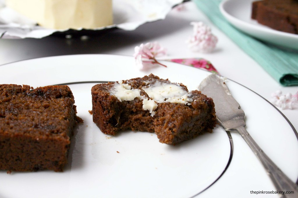 Gingerbread - gluten free & dairy free | The Pink Rose Bakery