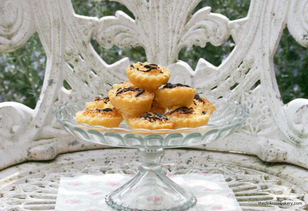 Mini Coconut & Lime Tarts - little bites of summer, gluten free | The Pink Rose Bakery