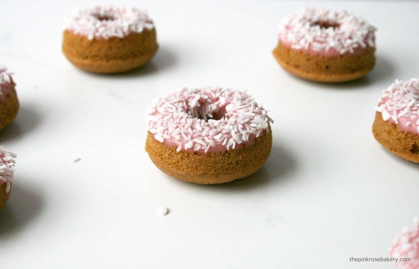 Frivolous Mini Feather Boa Doughnuts {gluten free & dairy free} | The Pink Rose Bakery