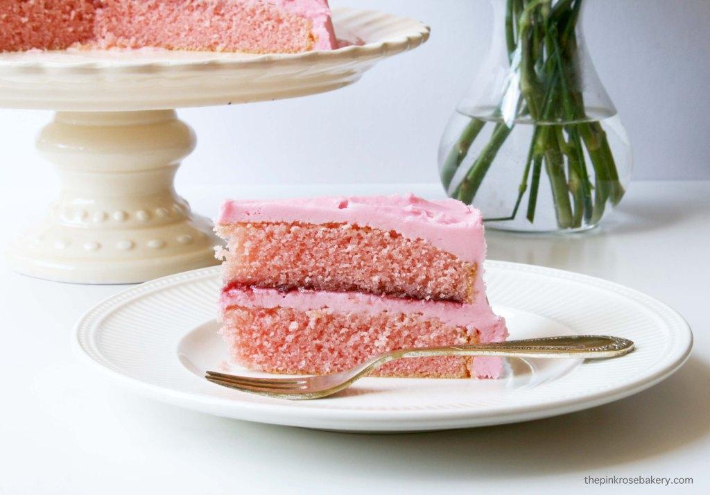 pink birthday cake 3