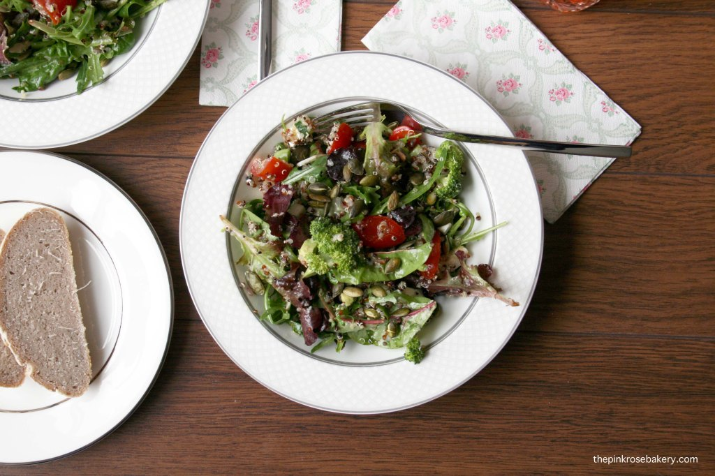 Super Salad | The Pink Rose Bakery
