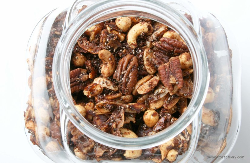 Amazing Grain-Free Granola | The Pink Rose Bakery