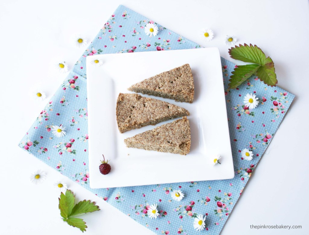 Chestnut & Almond Shortbread {gluten-free and dairy-free} | The Pink Rose Bakery