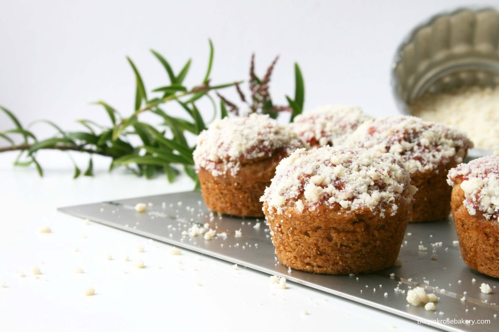 Mini Peanut Butter & Jelly Doughnut Muffins {gluten free & dairy free} | The Pink Rose Bakery