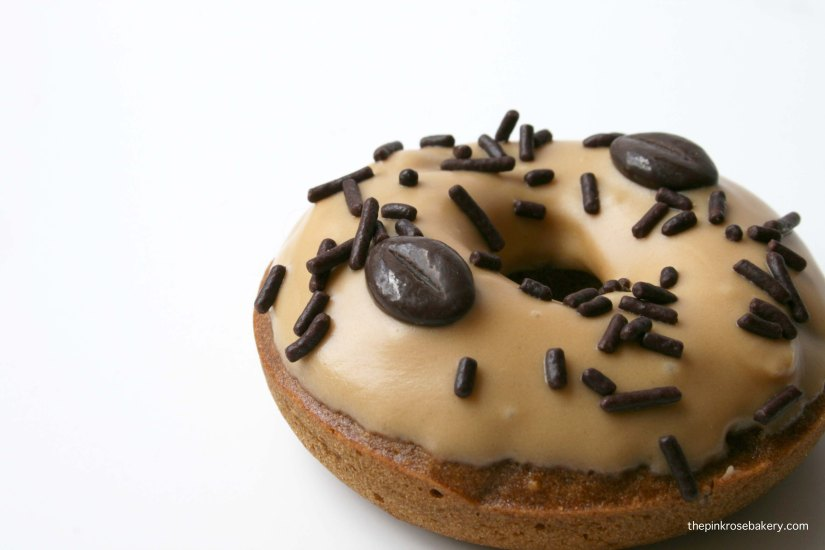 Coffee Doughnuts {gluten free & dairy free} | The Pink Rose Bakery