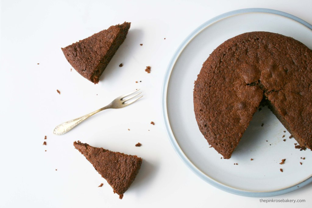 Hazelnut & Chocolate Cake {gluten-free, grain-free} | The Pink Rose Bakery