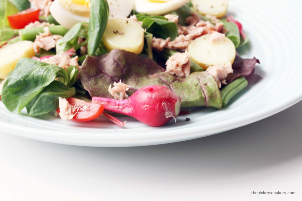 Tuna Niçoise Salad {gluten free & dairy free} | The Pink Rose Bakery