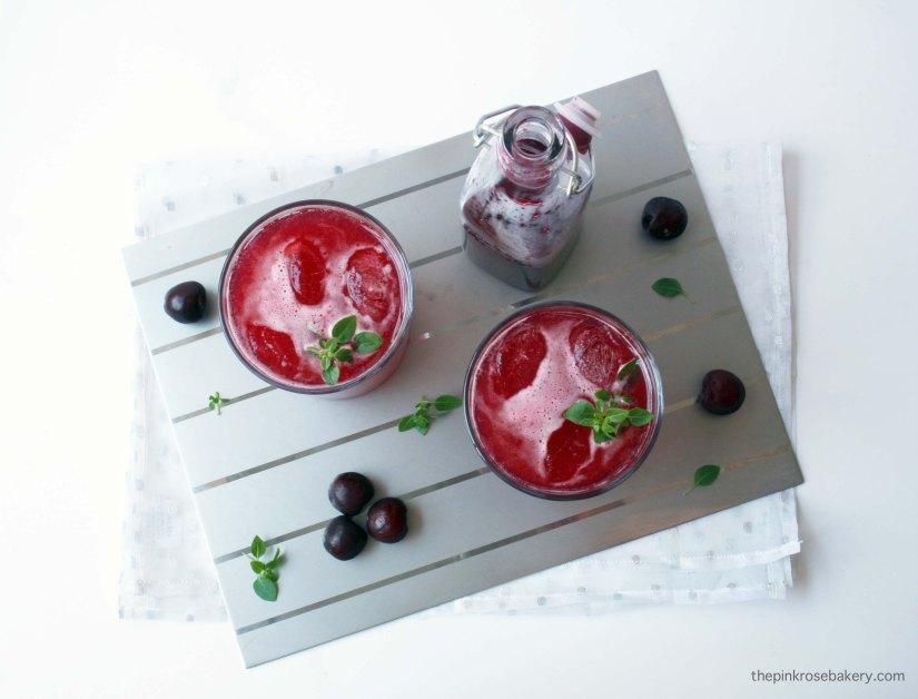 Cherry Vanilla Soda | The Pink Rose Bakery