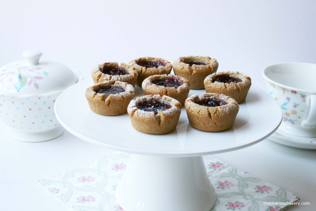 Mini Jam Cups {gluten free} | The Pink Rose Bakery