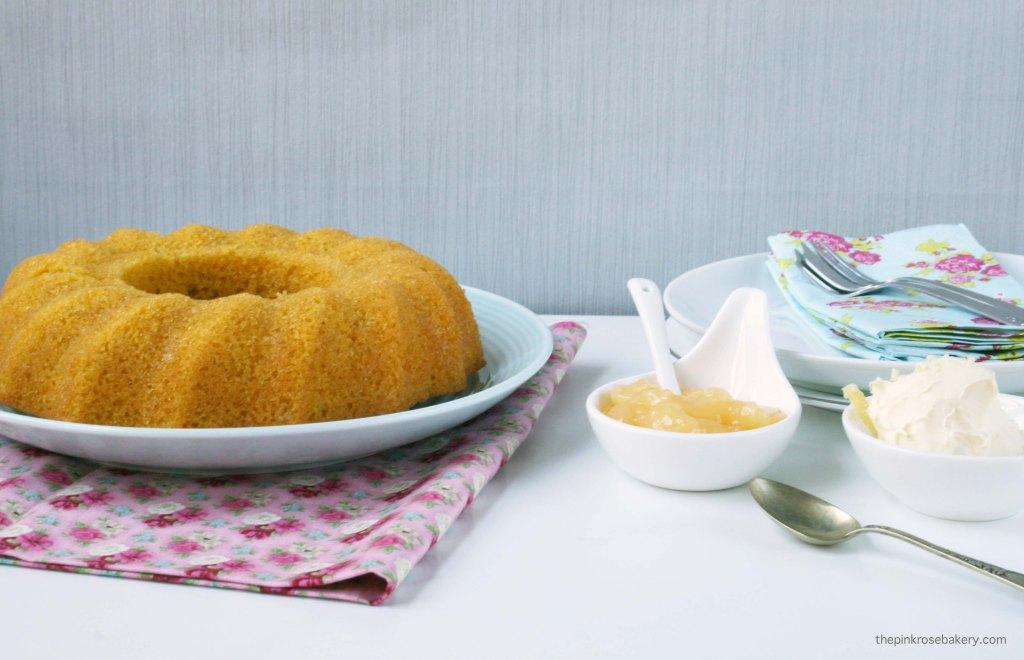 Lemon & Saffron Cake {gluten free & dairy free} | The Pink Rose Bakery