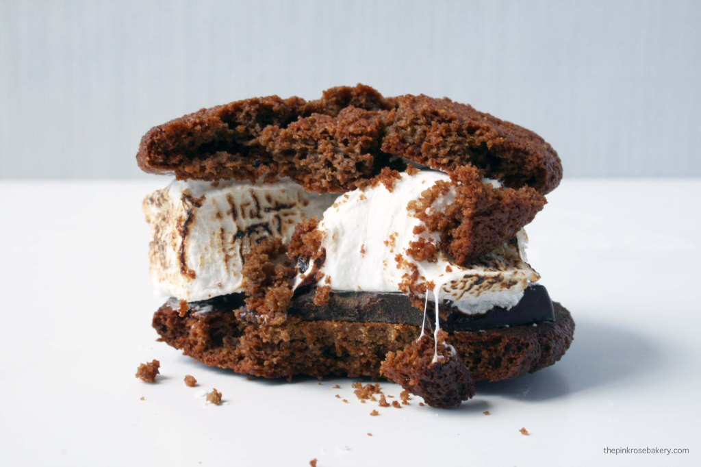 Ginger S'mores with Homemade Vanilla Marshmallow {gluten free}   The Pink Rose Bakery