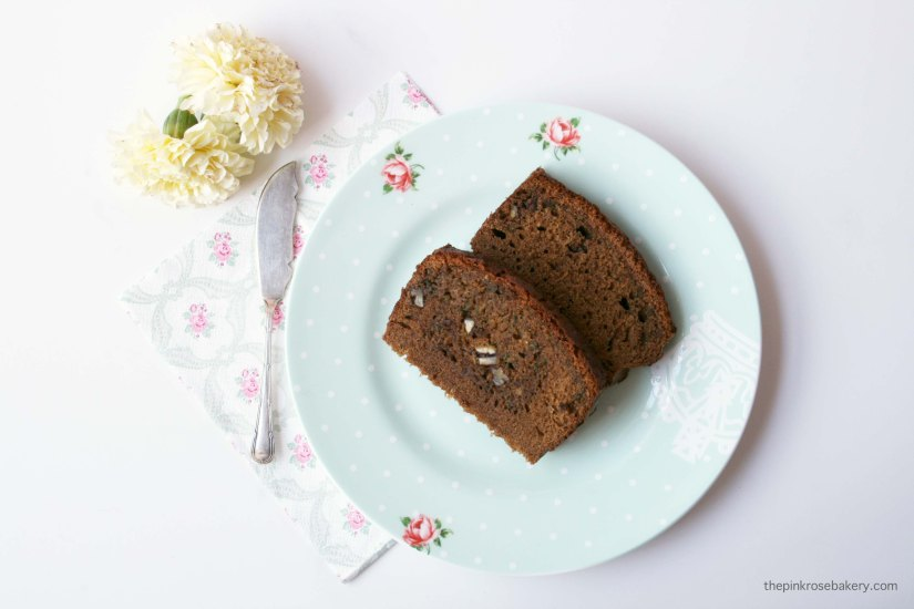 Spiced Courgette Bread {gluten free & dairy free}| The Pink Rose Bakery