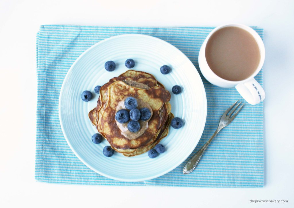 2 Ingredient Banana Pancakes, perfect for breakfast {gluten free & dairy free}   The Pink Rose Bakery