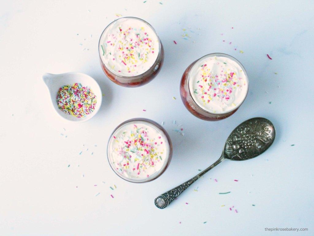 Neapolitan Trifles {gluten free}   The Pink Rose Bakery