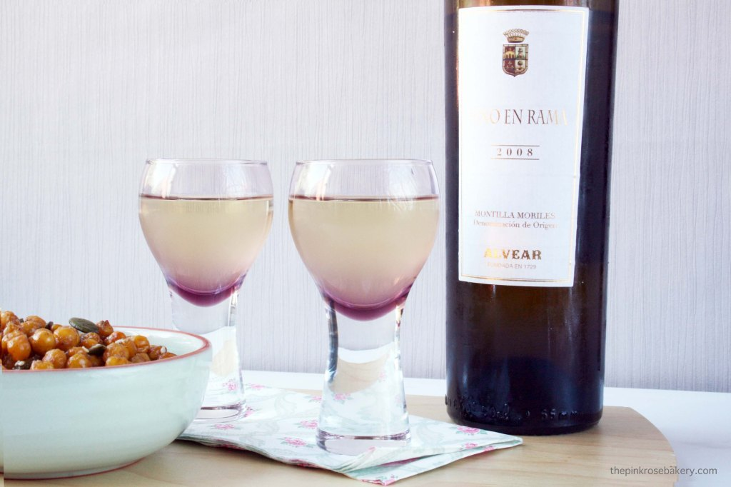 Roasted Chickpeas & Seeds + A Cheeky Tipple! | The Pink Rose Bakery