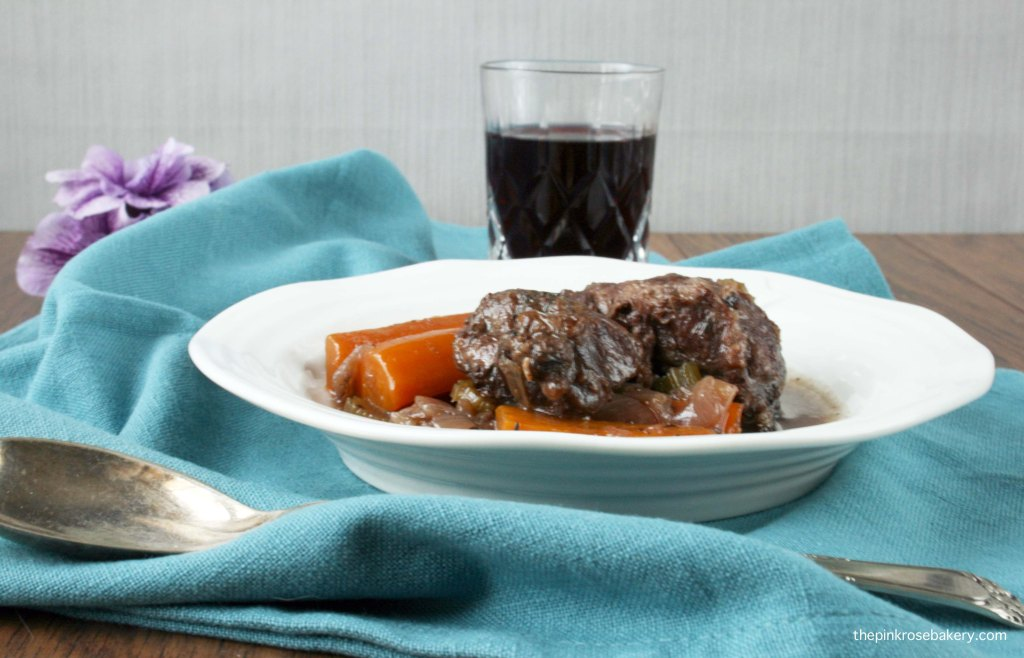 Slow Cooked Iberico Pork Cheeks| The Pink Rose Bakery