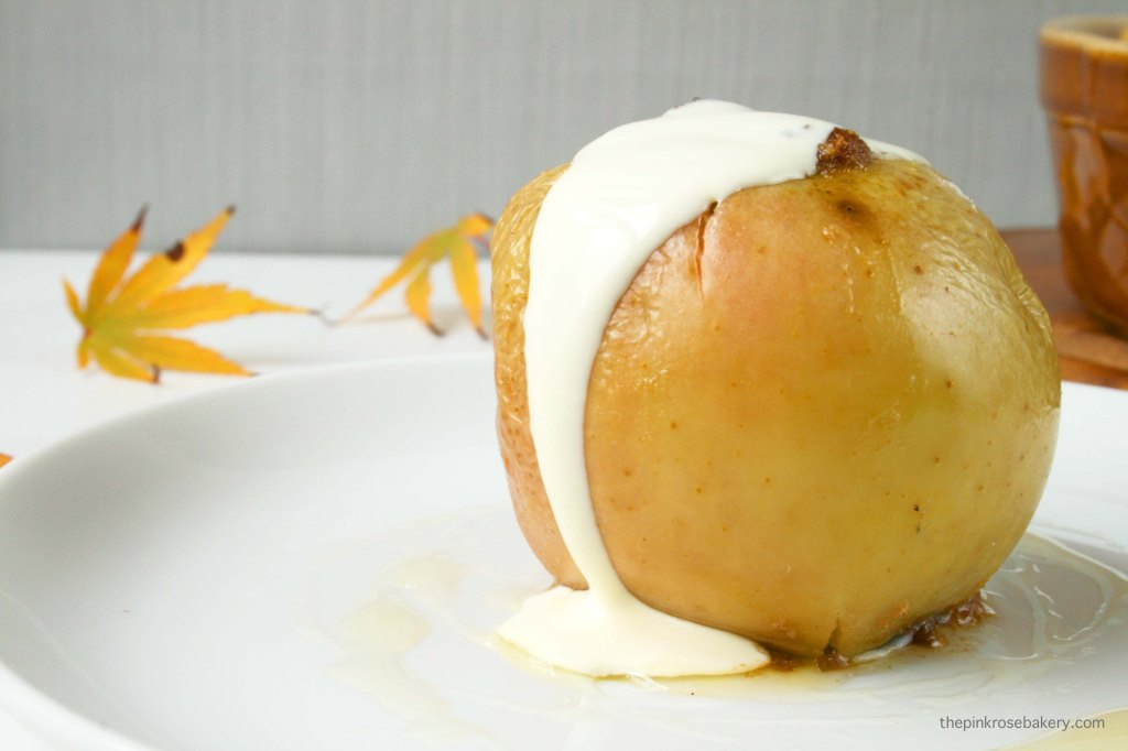 Seasonally Stuffed Baked Apples {gluten free} | The Pink Rose Bakery