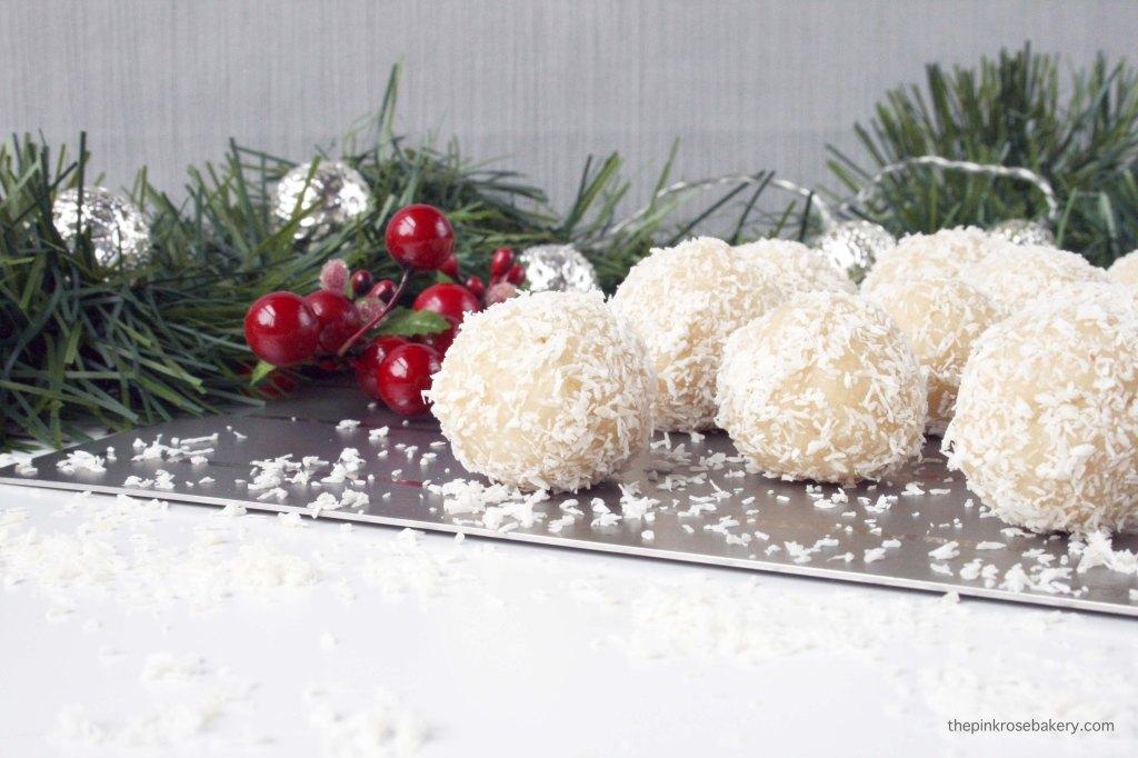 Almond & Coconut Snowballs 1