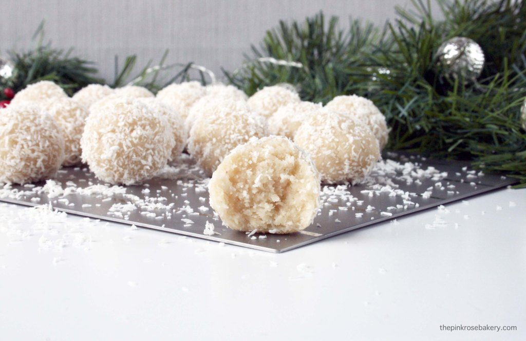 Almond & Coconut Snowballs 2