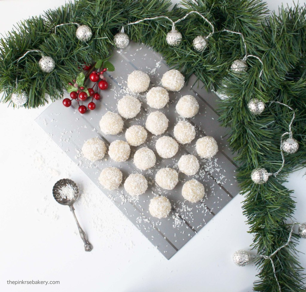 Almond & Coconut Snowballs 4