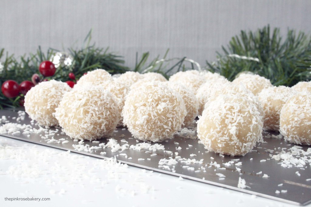 Almond & Coconut Snowballs 5