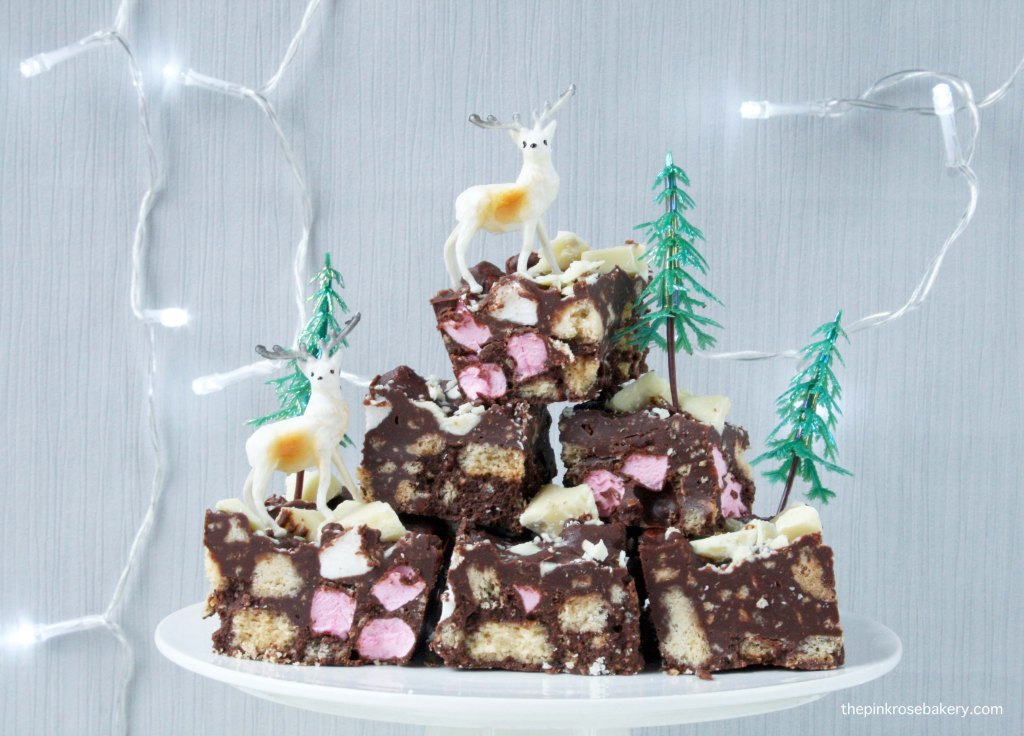 Christmas Rocky Road {gluten free} | The Pink Rose Bakery