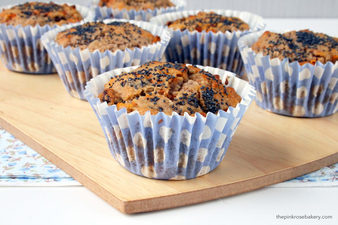 Carrot & Banana Muffins {gluten free, dairy free and grain free} | The Pink Rose Bakery