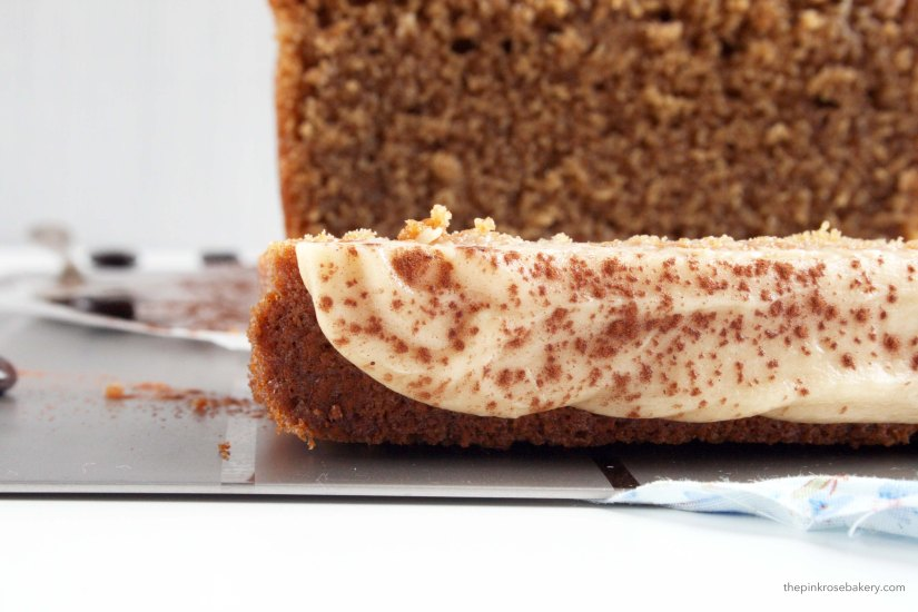 Coffee Loaf Cake {gluten free} | The Pink Rose Bakery