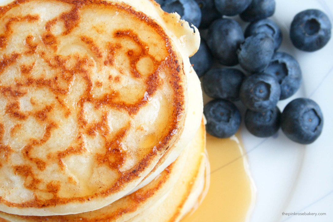 Ricotta Pancakes {gluten free} | The Pink Rose Bakery