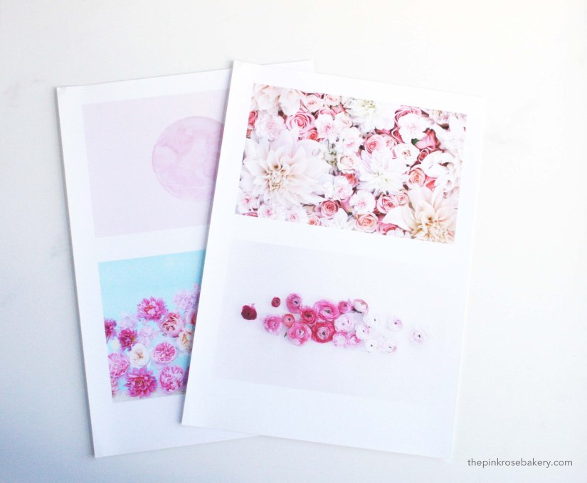 Create a picture wall for free* | The Pink Rose Bakery