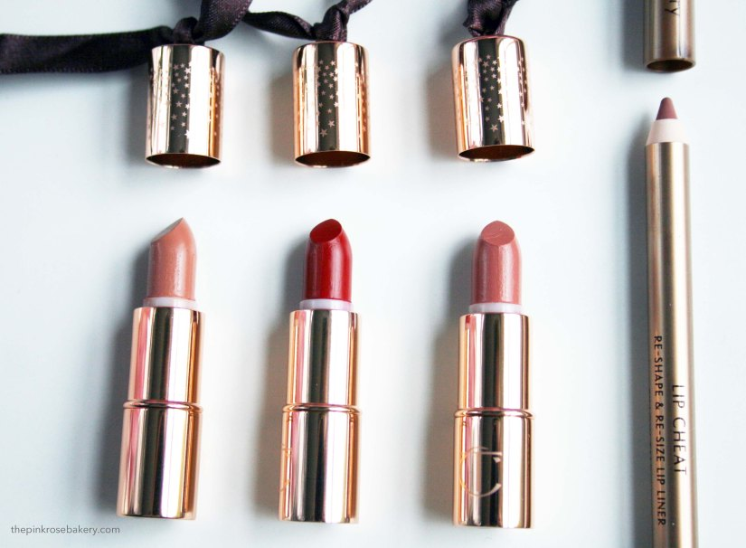 Charlotte Tilbury Lip Products | The Pink Rose Bakery