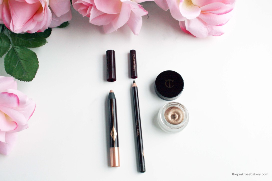 Charlotte Tilbury eye products | The Pink Rose Bakery