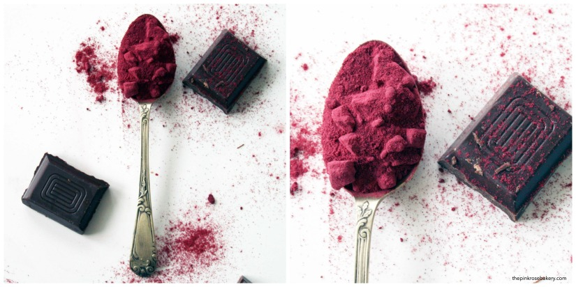 Chocolate and Beetroot Ice Lolly {gluten free} | The Pink Rose Bakery